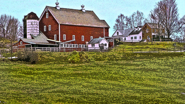 The farm off Route 106 in South Woodstock used to be owned by the town, which used it as a poor farm.